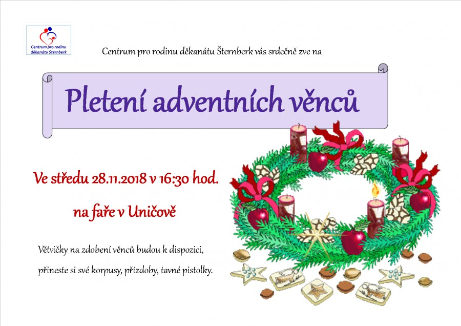 Pleteni advent vencu 18
